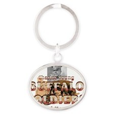 buffsoldiersnm Oval Keychain