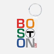 Boston Multi T Keychains