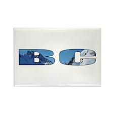 British Columbia Rectangle Magnet