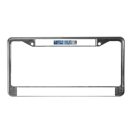 British Columbia License Plate Frame