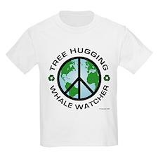 Tree Hugging, Whale Watcher T-Shirt