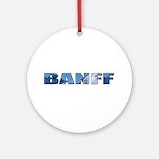 Banff Ornament (Round)