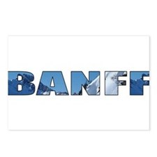 Banff Postcards (Package of 8)