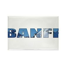 Banff Rectangle Magnet