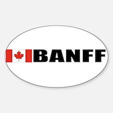 Banff Oval Decal