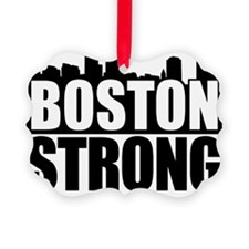 Boston Strong Black Ornament