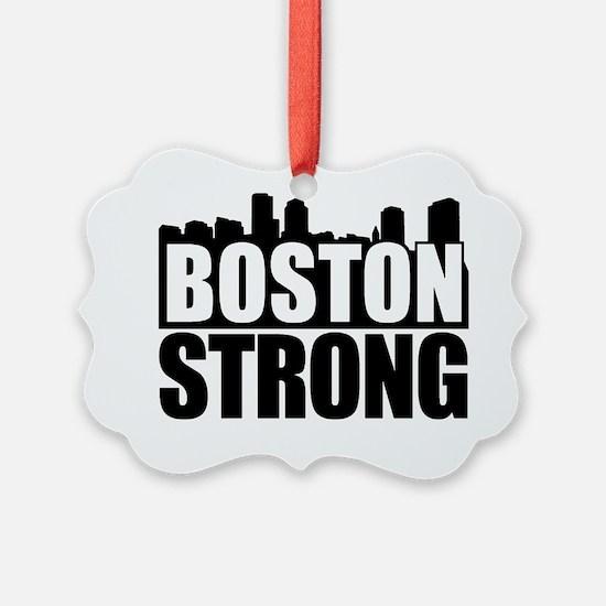 Boston Strong Black Ornament