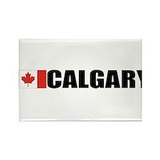 Calgary, Alberta Rectangle Magnet
