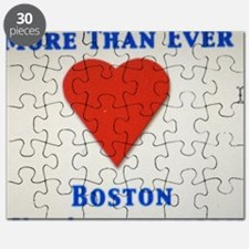 Support our wonderful town, Boston Puzzle