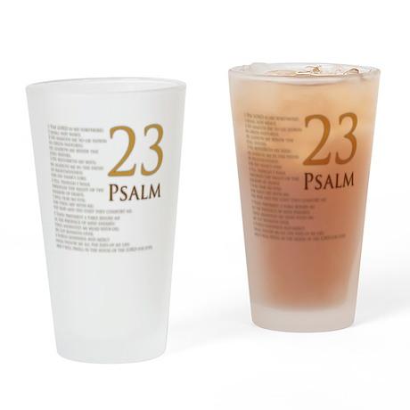 PSA 23 Drinking Glass