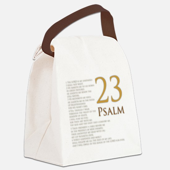 PSA 23 Canvas Lunch Bag
