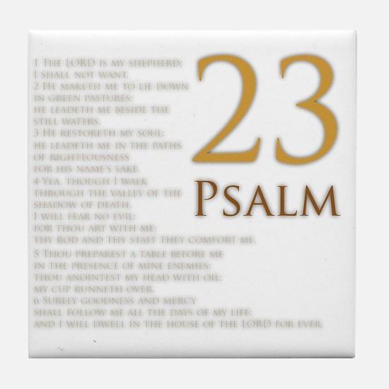 PSA 23 Tile Coaster