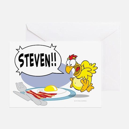 Steven the Egg Greeting Card