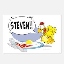 Steven the Egg Postcards (Package of 8)
