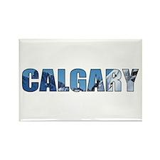 Calgary, Alberta Rectangle Magnet (100 pack)