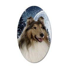 Collie Wall Decal