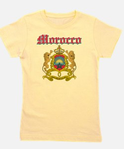 Moroccan Coat Of Arms Girl's Tee