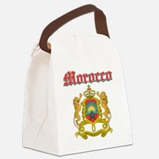 Moroccan Coat Of Arms Canvas Lunch Bag