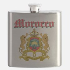 Moroccan Coat Of Arms Flask