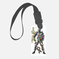 AutismKnightWaterBottle Luggage Tag