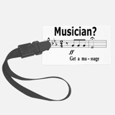 Musician Massage Luggage Tag