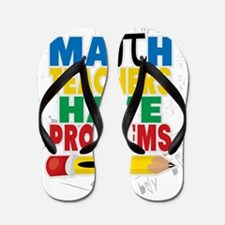 Math Teachers Have Problems Flip Flops