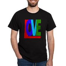 Love in Color transparent bkgrnd T-Shirt