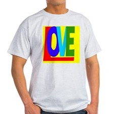 Love in Color xtra bkgrnd T-Shirt