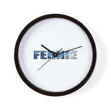 Fernie, British Columbia Wall Clock