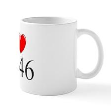 """""""I Love 1946"""" Mug"""