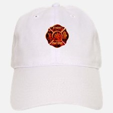 Maltese Cross Red Flame Hat