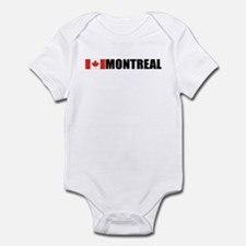 Montreal, Quebec Infant Bodysuit