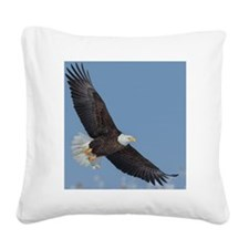 Eagle 10x Square Canvas Pillow
