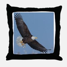 Eagle 10x Throw Pillow