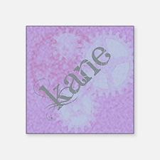 "Kane steampunk Square Sticker 3"" x 3"""