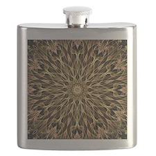 Gold and Copper Mandala Flask