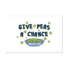 Give Peas A Chance Posters