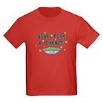 Give Peas A Chance Kids Dark T-Shirt