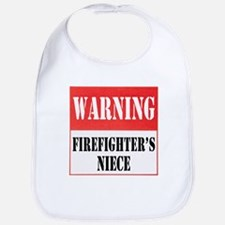 Firefighter Warning-Niece Bib