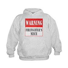 Firefighter Warning-Niece Hoodie