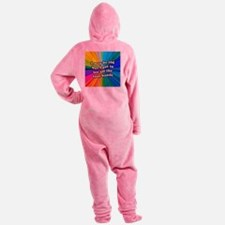 FIN-old-cool-bands-12x12 Footed Pajamas