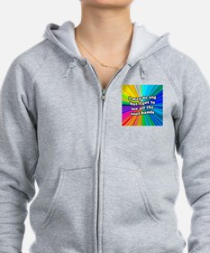 FIN-old-cool-bands-12x12 Zip Hoodie