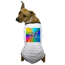 FIN-old-cool-bands-12x12 Dog T-Shirt
