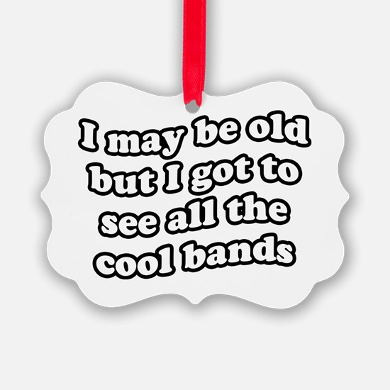 FIN-old-cool-bands-TEXTONLY Ornament