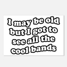 FIN-old-cool-bands-TEXTON Postcards (Package of 8)