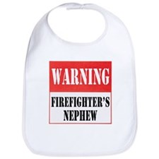 Firefighter Warning-Nephew Bib