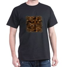 Golden Metal Scales T-Shirt