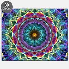 Inward flower Mandala Puzzle