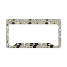 Lovable Lambs License Plate Holder