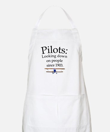 Pilots: Looking down on peopl BBQ Apron